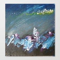 Splash into the Undergrowth Canvas Print