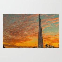 Nature Sculpture & Sunset Rug