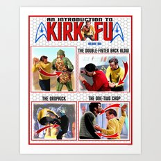 An Introduction to Kirk - Fu Art Print