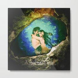 A Mermaid Tale (Kabby) Metal Print