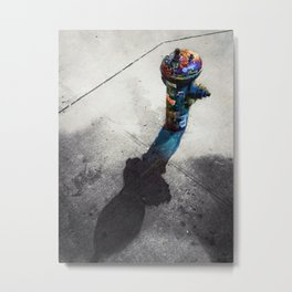EAT YOUR SHADOW Metal Print