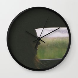 Autumn drives. Wall Clock