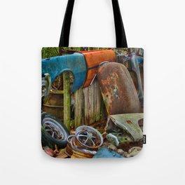 Junk Yard Tote Bag