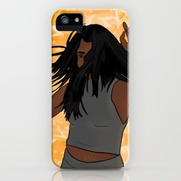 Born in a Storm iPhone Case