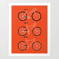 Go Go Go Art Print