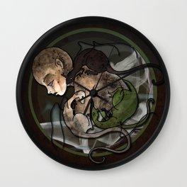 From Ash Wall Clock