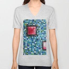 """""""Mosaic Squared"""" Unisex V-Neck"""