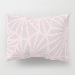 Handmade minimal geometric pattern - Pink & Taupe #decor Pillow Sham