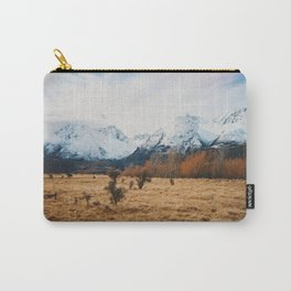 Peaceful New Zealand mountain landscape Carry-All Pouch