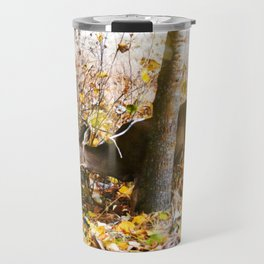 Deer In The Aspens Travel Mug