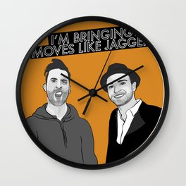 I'M BRINGING MOVES LIKE JAGGER! Wall Clock