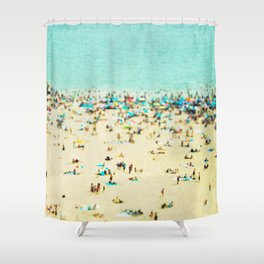 Coney Island Beach Shower Curtain