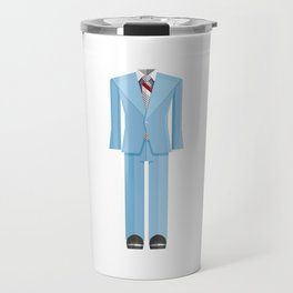 Bowie Ziggy Star Dust Costume Minimal Sticker Travel Mug