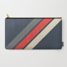 3 Retro Stripes #4 Carry-All Pouch