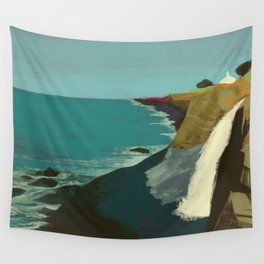 The Coast of California Wall Tapestry