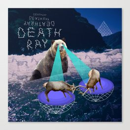 Death Ray Canvas Print