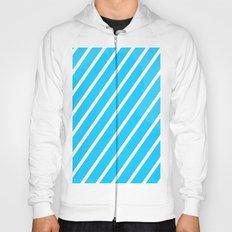 Blue & White Stripes Hoody