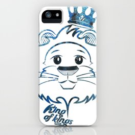 Lion King of kings iPhone Case