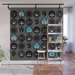 Flight Instruments Wall Mural