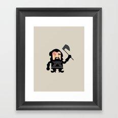 The Hound Dwarf Framed Art Print