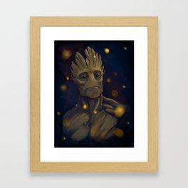 Groot Framed Art Print