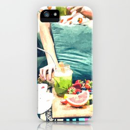 Picnic Day iPhone Case
