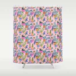 Cat frenzy Shower Curtain