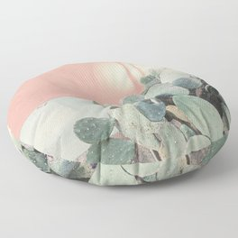 Scenes from Marfa II x Pink Cactus Art Floor Pillow