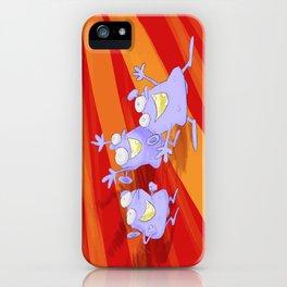 The joy of the idiotians iPhone Case