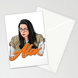 Alex Vause, I heart you. Stationery Cards