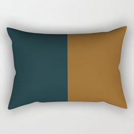 Color Block Abstract XI Rectangular Pillow