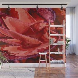Scarlet Begonias Wall Mural