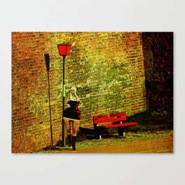 Life without plaza. Canvas Print