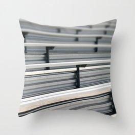 Bleachers Throw Pillow