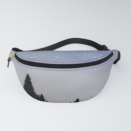 Forest Watercolors Fanny Pack