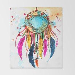 Dream a beautiful dream- Dreamcatcher Throw Blanket
