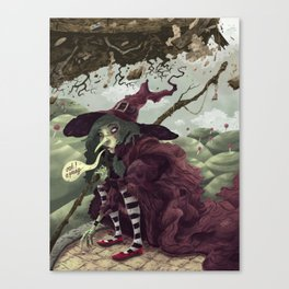 Wicked Witch of the East Canvas Print