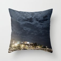 And the Moon to Rule the Sea Throw Pillow