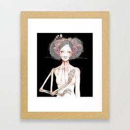 Morior Invictus Framed Art Print
