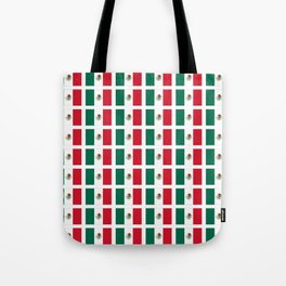 Flag of mexico 2- mexico,mexico city,mexicano,mexicana,latine,peso,spain,Guadalajara,Monterrey Tote Bag
