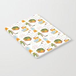 Retro Kitchen - Orange and Green Notebook