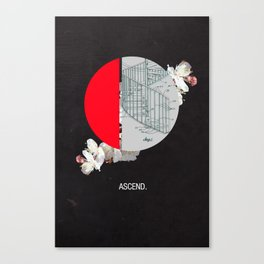 Ascend. Canvas Print