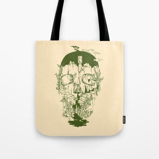 Inside My Head Tote Bag