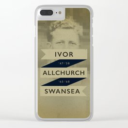 Swansea - Allchurch Clear iPhone Case