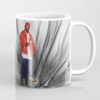 2pac Mugs featuring Big L  by Gold Blood