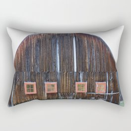 Rustic Old Country Barn Rectangular Pillow