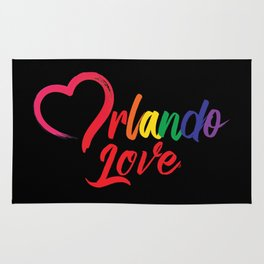 Heart Orlando Love Rug