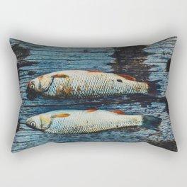 Fish-Fishy-Fish Rectangular Pillow