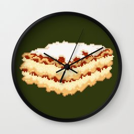 Lasagna Wall Clock