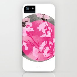 Vietnam Peach Blossom Hoa Dao Tet Holiday iPhone Case